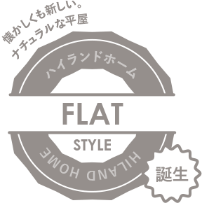 flat STYLEロゴ